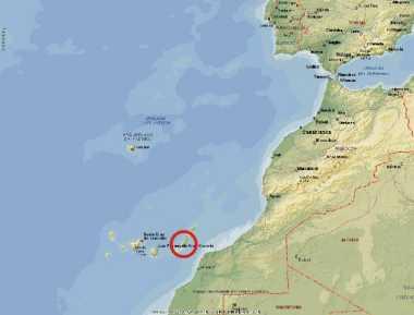 Cartina Spagna Fuerteventura.Fuerteventura